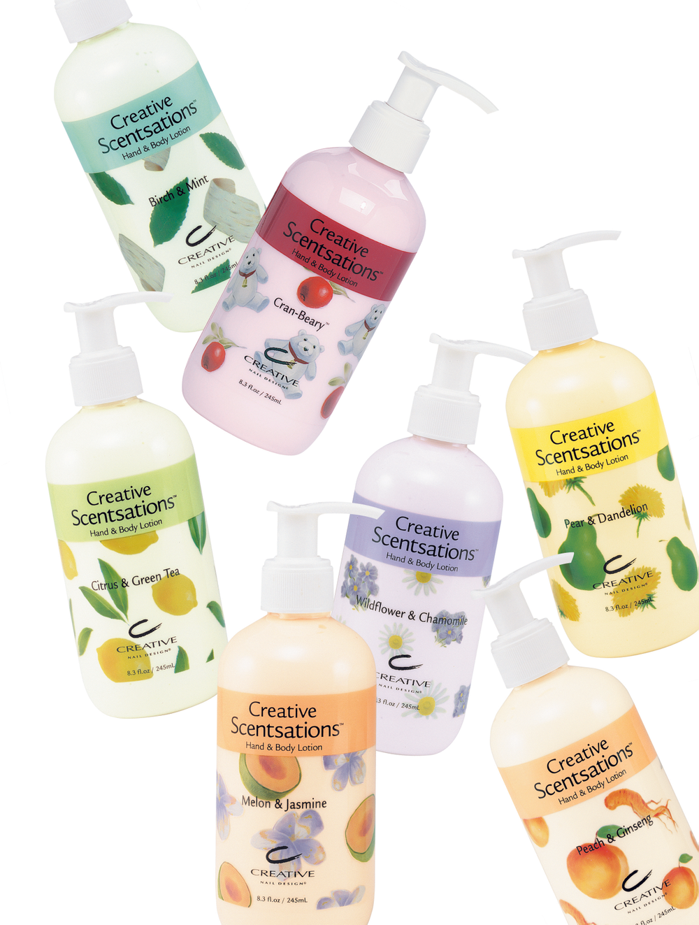 <p><strong>2006 Favorite Lotion for Hands and Body: Creative Nail Design Scentsations Hand and Body Lotions</strong></p> <p>2nd: OPI Products Avojuice Skin Quenchers<br />3rd: Nail Tek 7 Days to Beautiful Hands Advanced Hydrating Cr&egrave;me<br />4th: Cuccio Natural&eacute; Milk and Honey Butter Blend<br />5th: Haken Body Butter</p>