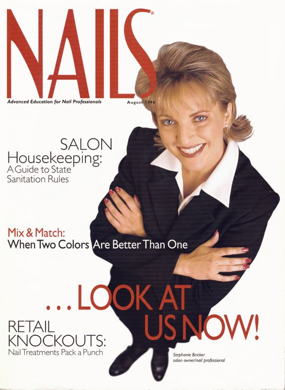 <p><strong>1996</strong>: The August issue marks the first time a nail tech is featured on a cover.</p>