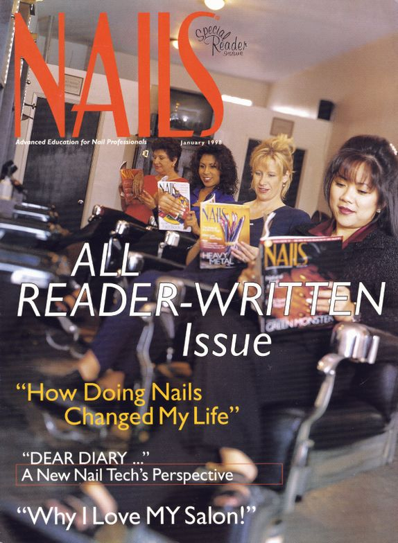<p><strong>January 1998</strong>: Readers take over and create NAILS&rsquo; first all reader-written issue.</p>