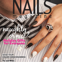 Behind the Scenes: Negative Space Floating Nail Tips