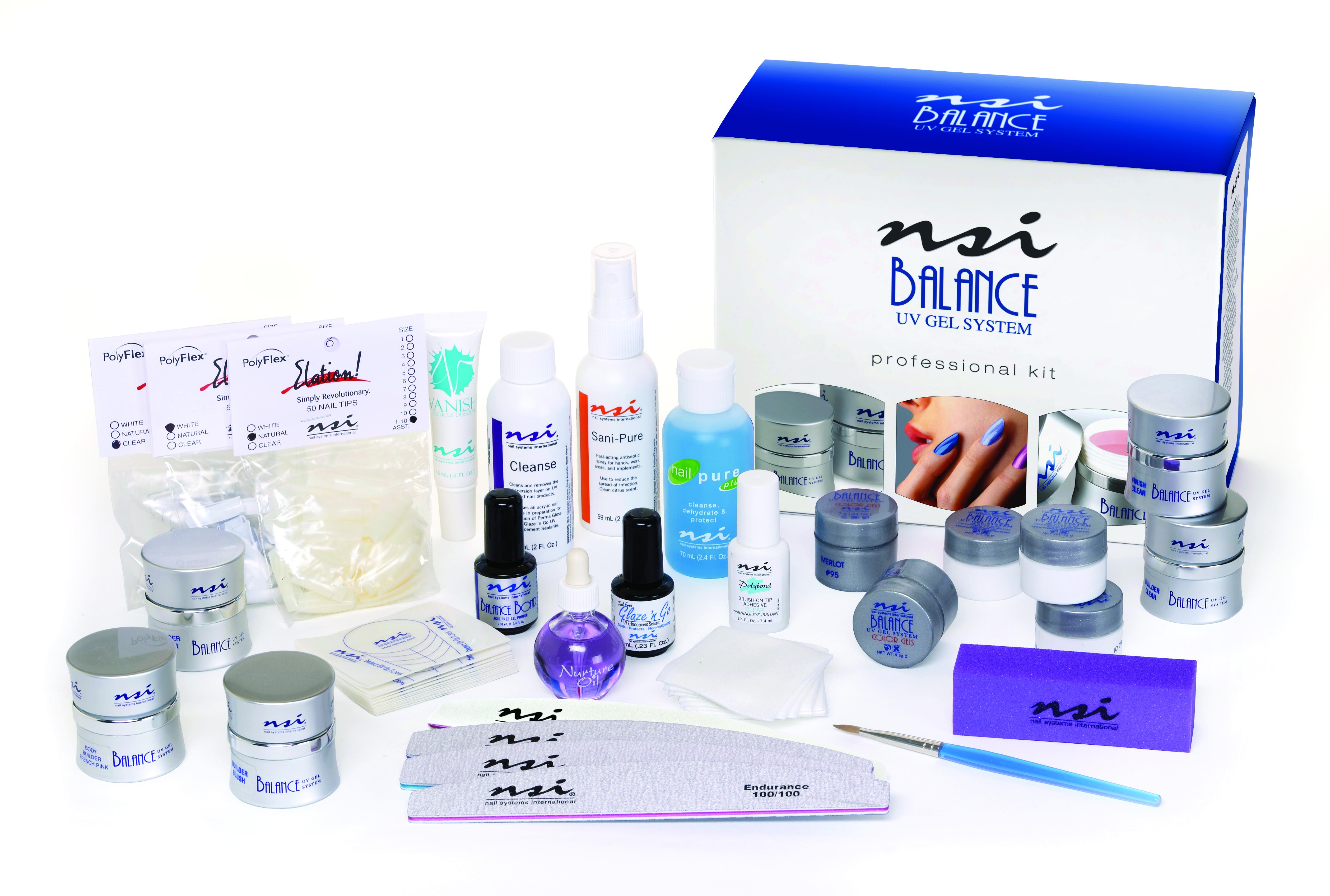 Balance UV Gel Professional Kit