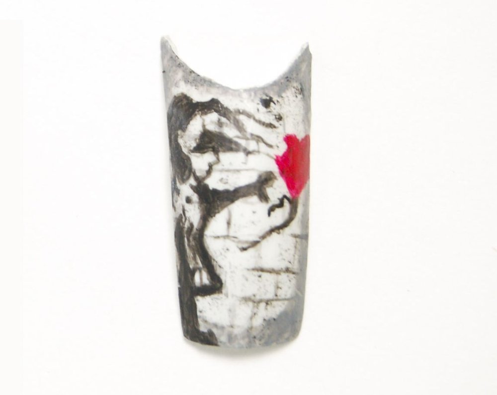 """<p>Shona McBride, """"Balloon Girl"""" by Banksy.</p>"""