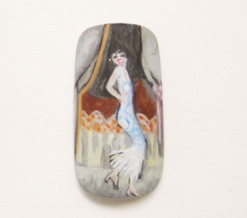 """<p>Jennifer Guthrie, Claremont, Calif.</p> <p>""""Carmen Vincente Dansant"""" by Kees Van Dongan</p>"""