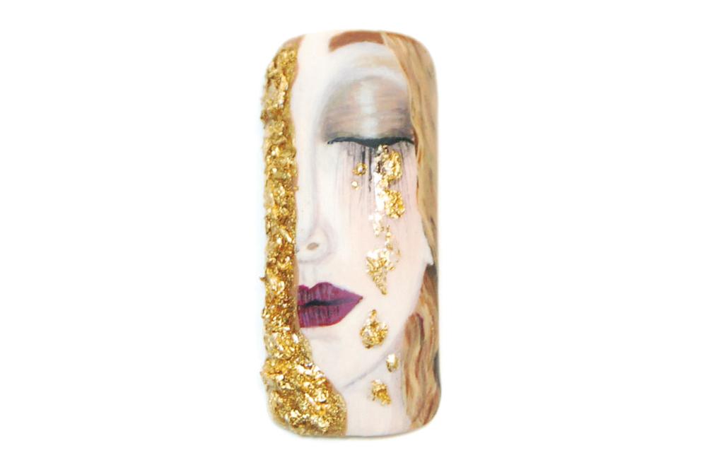 "<p>Honorable Mention: Stella Sampson, Athens, Greece<br />""Golden Tears"" by Gustav Klimt</p>"