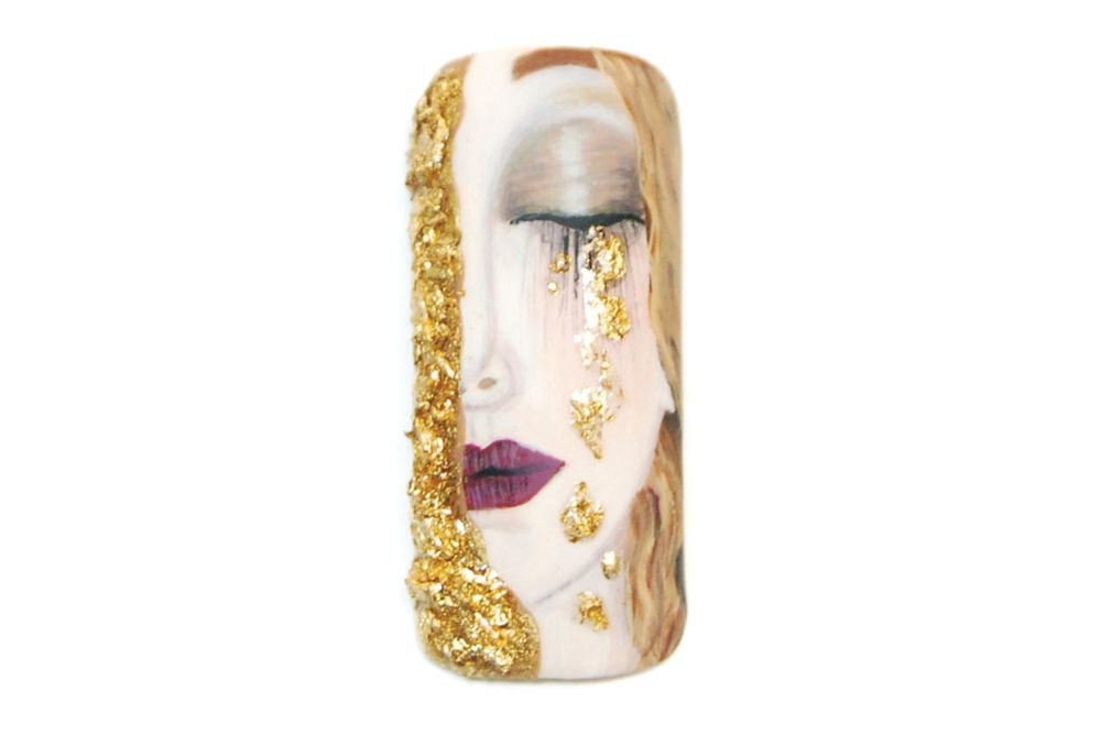 "<p>Honorable Mention: Stella Sampson, Athens, Greece <br />""Golden Tears"" by Gustav Klimt</p>"