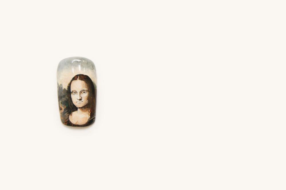 """<p>David Huynh, Savannah, Ga. """"Mona Lisa"""" By Leonardo Da Vinci</p>"""