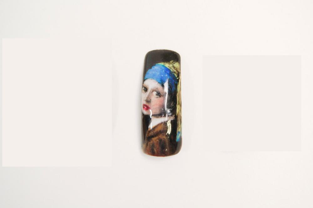 "<p>Lexi Majack, Racine, WI.</p> <p>""The Girl with the Pearl Earring,"" Johannes Vermeer</p>"