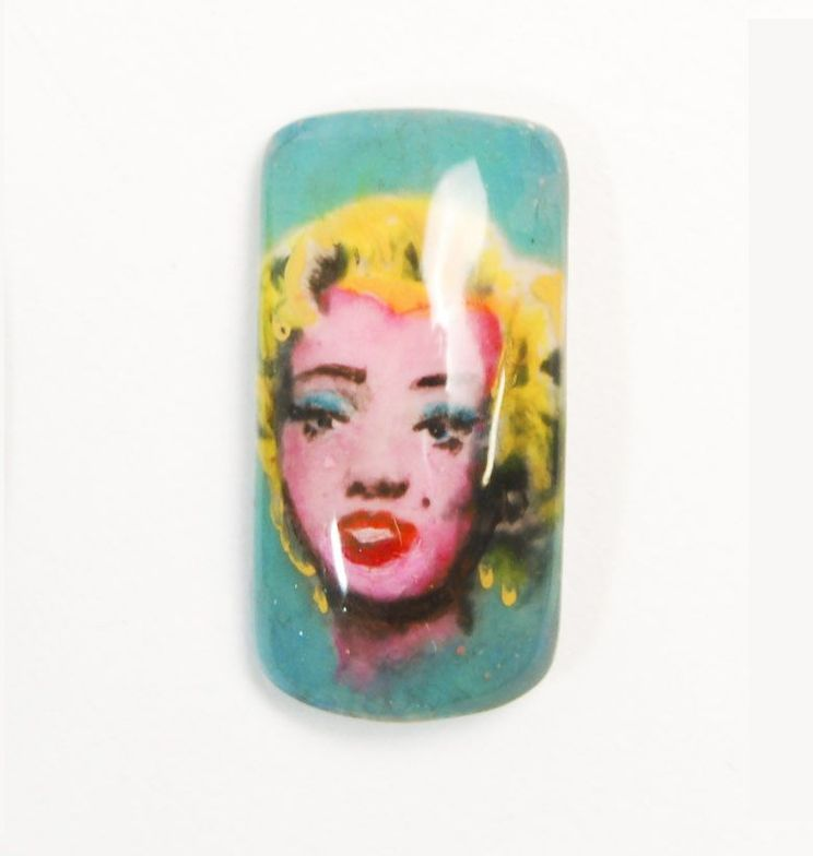 "<p>Rachael Peterson, Rochester, Minn. ""Turquoise Marilyn"" by Andy Warhol</p>"