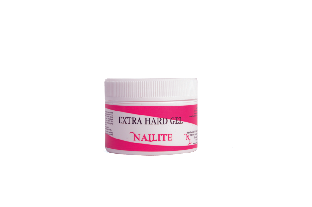 """<p><a href=""""http://www.nailiteinc.com/"""">Nailite</a>&rsquo;s Extra Hard Gel is a one step self-leveling, durable, high shine gel. It is perfect for the client who is hard on her nails.</p>"""