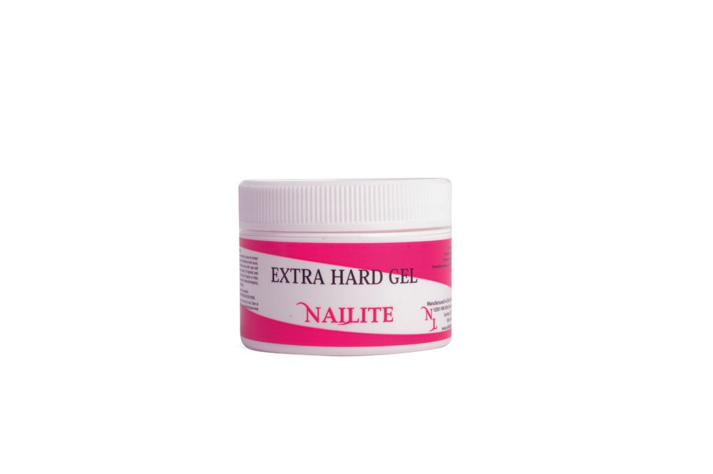 "<p><a href=""http://www.nailiteinc.com/"">Nailite</a>&rsquo;s Extra Hard Gel is a one step self-leveling, durable, high shine gel. It is perfect for the client who is hard on her nails.</p>"