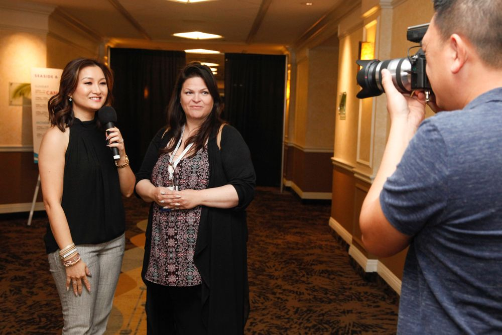<p>Ann Chang interviews Nail Career Education's Suzie Moskal for Ann's new YouTube series The Nail Tips Show.</p>