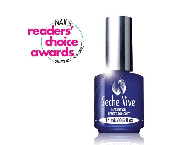 "<p class=""p1"">Seche Vive by<span class=""s1""> Seche</span> is the newest addition to the company&rsquo;s long-running top coat line. It offers the same dependable seal and speedy dry time of Seche Vite, but adds a vivid gel-like finish without curing.</p> <p class=""p2""><span class=""s2""><strong>www.seche.com</strong></span></p>"