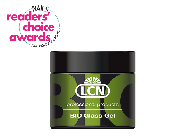 "<p class=""p1"">Created to address lifting problems with extensions,<span class=""s1""> LCN&rsquo;s</span> Bio Glass Gel contains ingredients that improve adherence to the natural nail. Two active ingredients &mdash; L-Cysteine, an amino acid, and Chitosan, a substance made from crustacean shells &mdash; are gentle and nourishing to the nail while lending a thin and natural-looking extension product without the use of a bonder.</p> <p class=""p2""><span class=""s2""><strong>www.lcnusa.com</strong></span></p>"