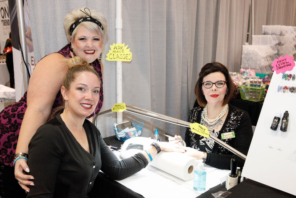 <p>Wildflowers Nails celebrated a first-time booth with nail art demos with Tracy Vinson, NTNA Season 3 Top 12.</p>