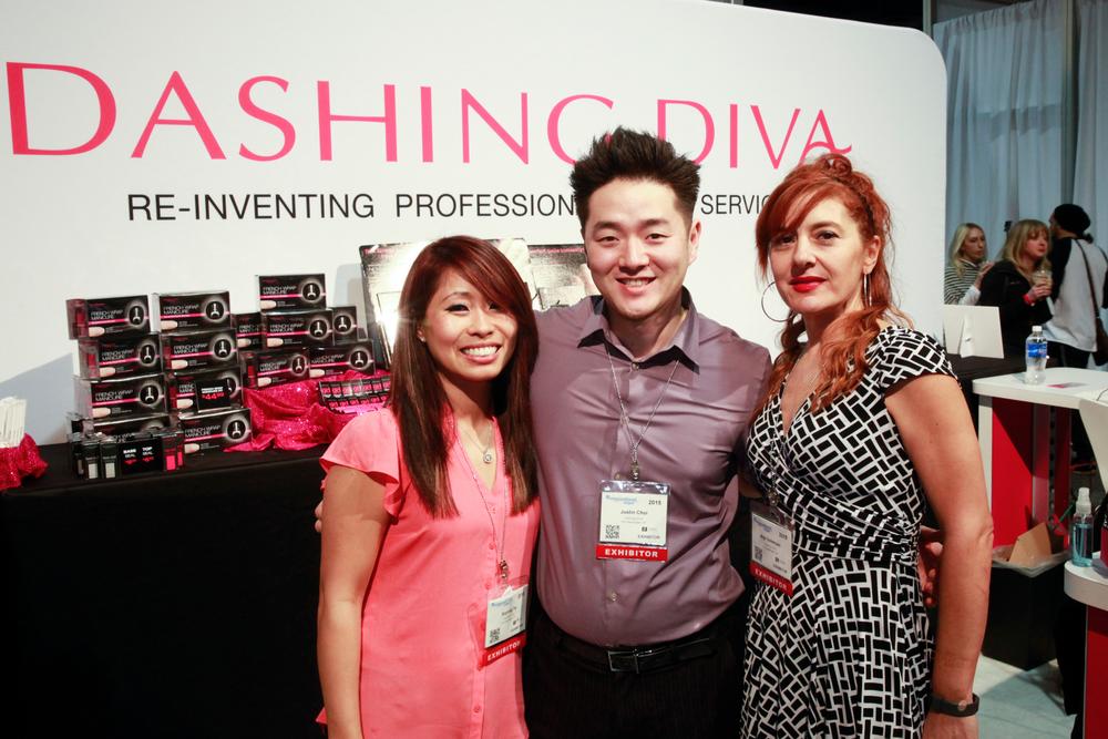 <p>Dashing Diva's So-Yong Yu, Justin Choi, and Arpi Sekeryan</p>