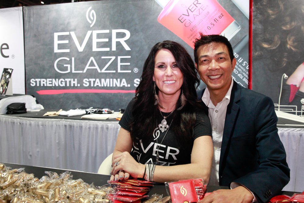 <p>Ever Glaze debuted at ISSE Long Beach with Allison Ross and Kelvin St. Pham.</p>