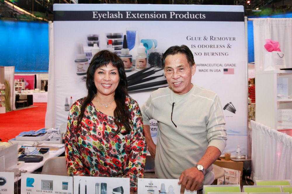 <p>Eyelash Extension Products featured an eyelash adhesive that sold like hotcakes in the Esthetics and Wellness Arena.</p>