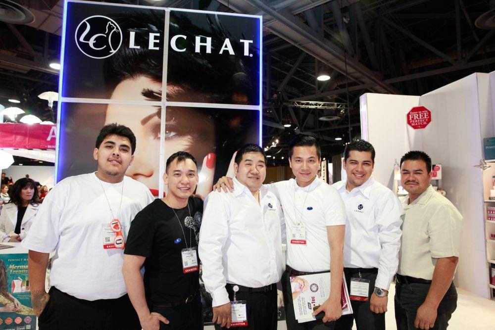 <p>LeChat's Francisco Lopez, Huy Hugo Nguyen, Hung Quang Ly, Hien Pham, Ricardo Castro, and Lazaro Franco</p>