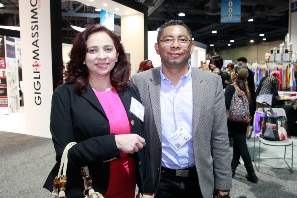 <p>Mia Secret's Lynda Sanchez and Robert Mejia</p>