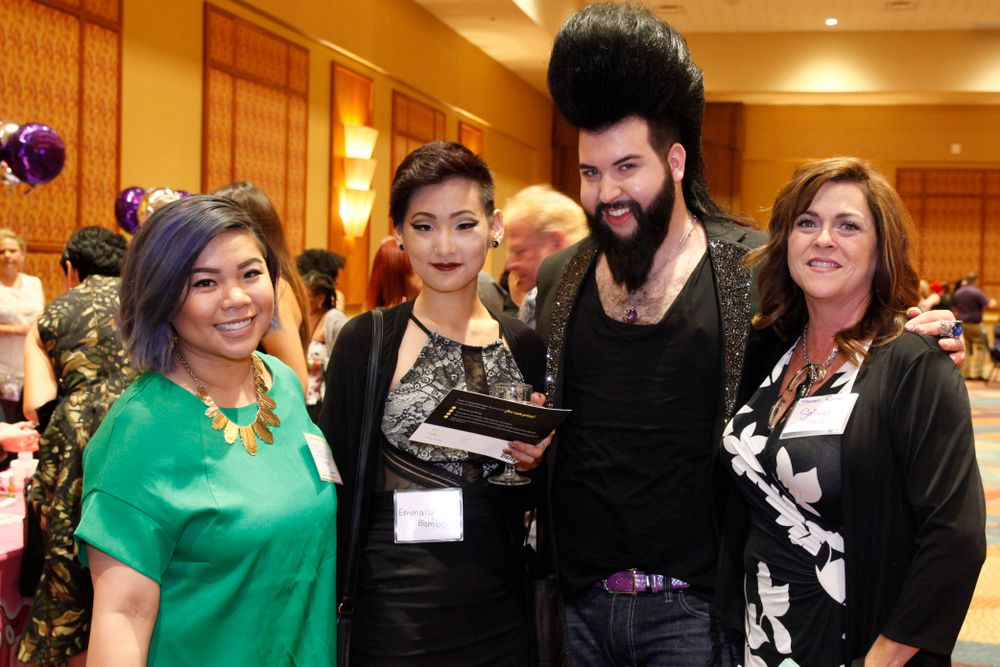 <p>Winnie Huang, Emmallyn Blomberg, Nelly Neal, and Shannon Rooney</p>