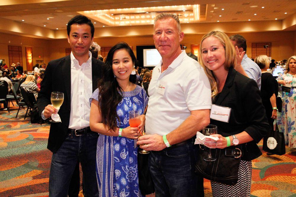 <p>Yoichi Taduchi, Akiko Yamakawa, Rachael Wilson, and Richard Hurter</p>