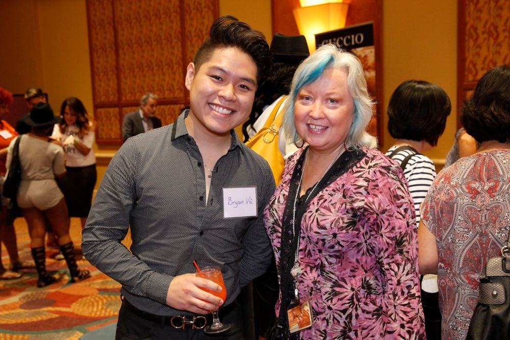 <p>Bryan Nguyen Thien Vu and Jill Wright</p>