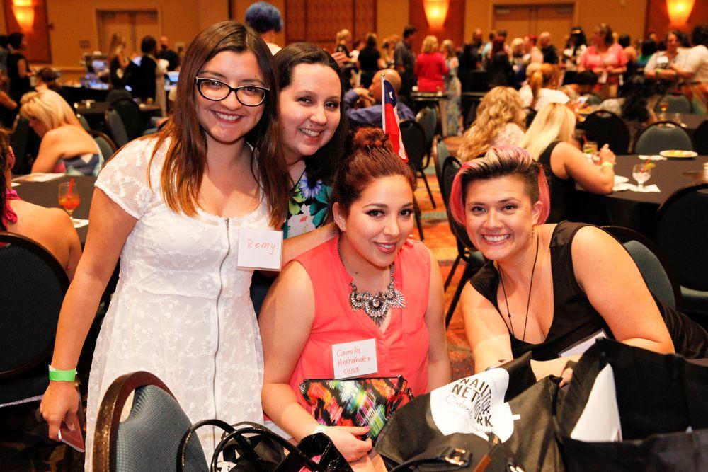 <p>Romy Suarez,&nbsp;Daniela Hernandez, Camila Hernandez, and Fanny Salinas</p>