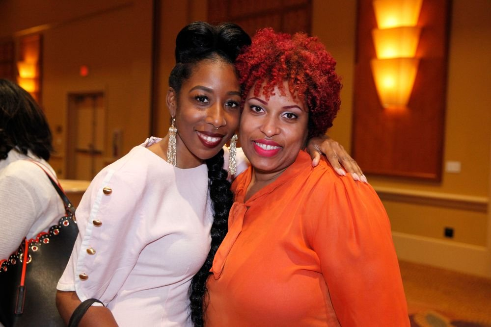 <p>NTNA Season 2's Lavette Cephus and Lauren Boyd</p>