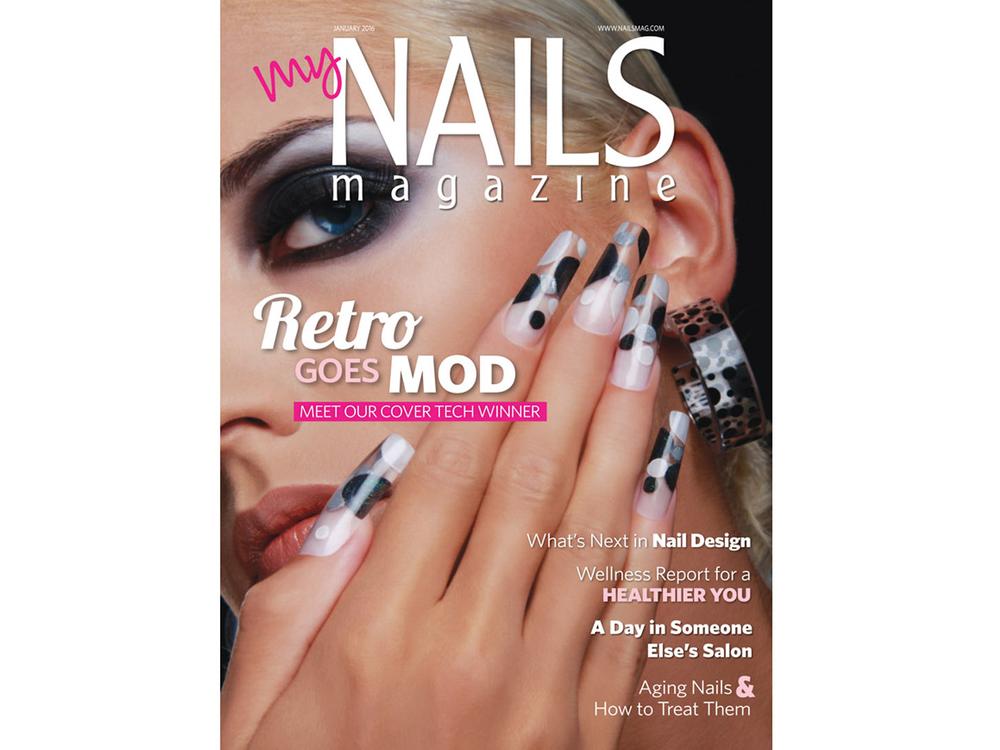 <p>NAILS January 2016 Cover by Anastasia Luksha, Moscow</p>