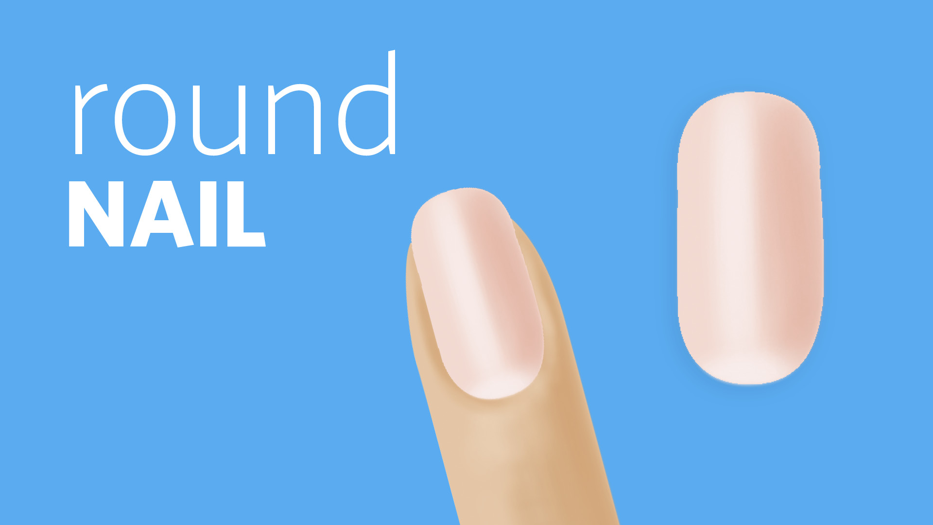 How to File a Round Nail