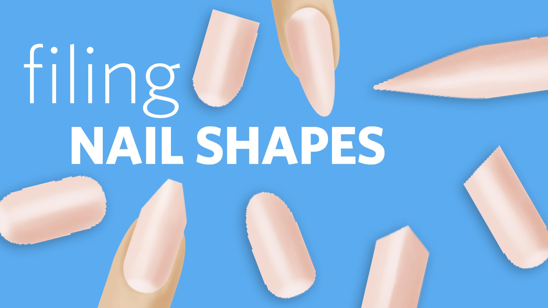 Filing 8 Nail Shapes (combined)