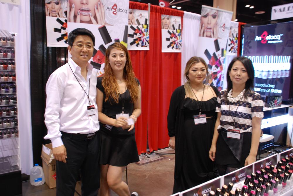 <p>Angelacq's Alex Kim, Summer Tan, Rachel Choi, and Jackie Pham</p>