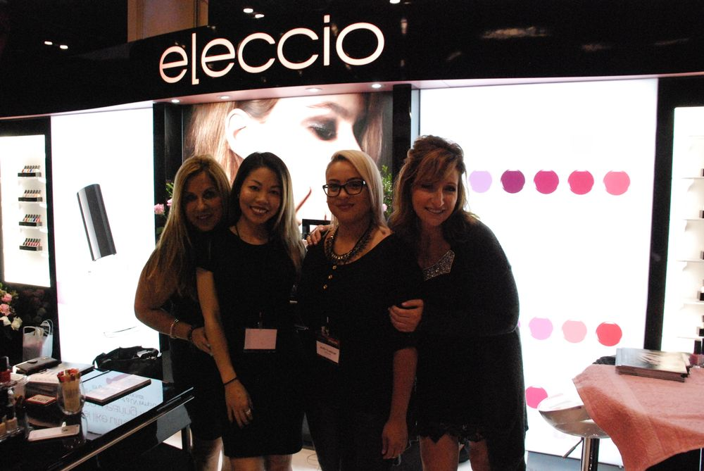 <p>Jenifer Guadalupe, Anh Truong, Mary Giampa, and Tina Nociforo of Eleccio.</p>