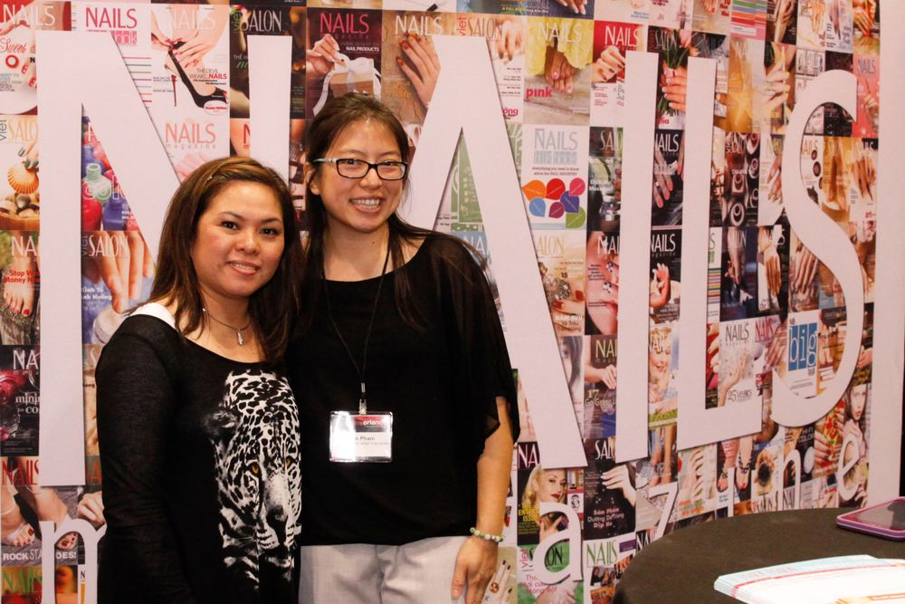 <p>VietSALON reader Victoria Tran flew into Premiere Orlando from Chicago for the first time to see what it was all about, bumping into VietSALON's Kim Pham.</p>