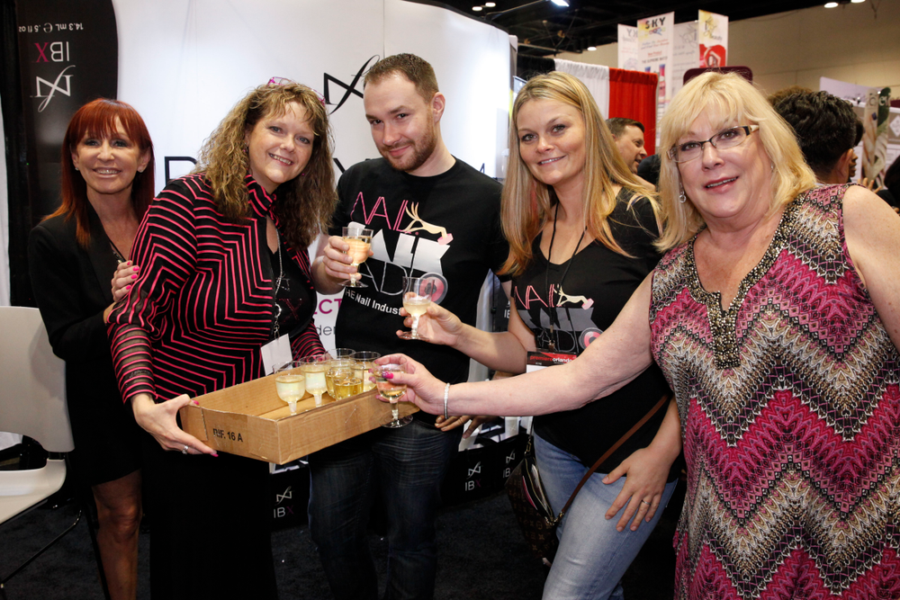<p>Drinks on Nail Talk Radio at the Famous Names booth!</p>