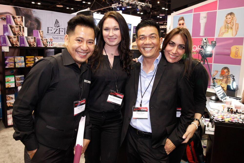 "<p>AII's Sean Phan, <a href=""http://www.instagram.com/excellencenailsbyiliana"">Iliana</a>, Kelvin St. Pham, and Lourdes Desfassiaux</p>"