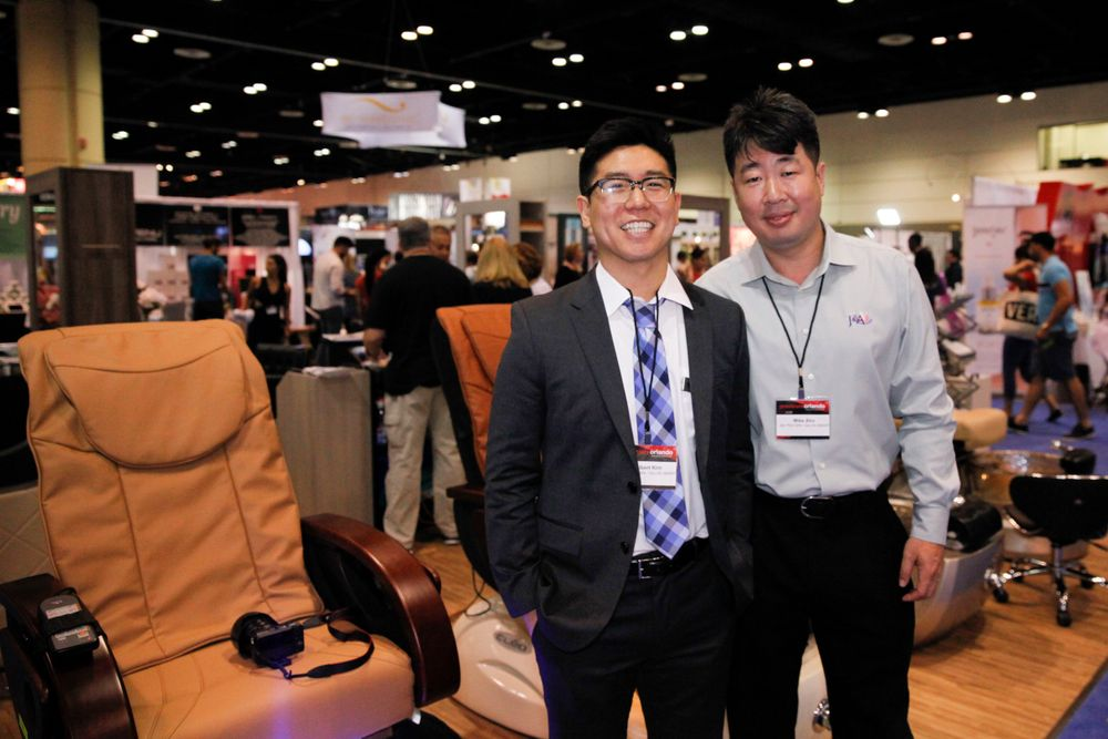 <p>J &amp; A's Albert Kim and Mike Ahn</p>
