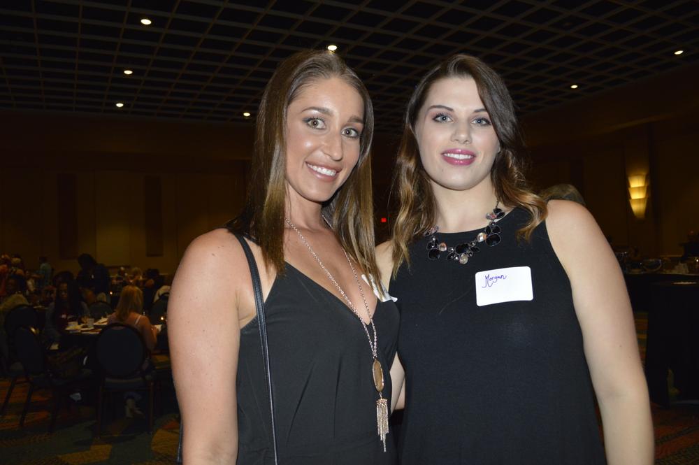 <p>Lauren Joy and Morgan Dale</p> <p></p>