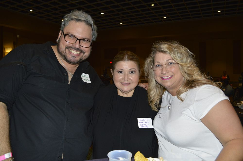 <p>Billy Anthony, Maria E. Marchan, and Stacy Hainn</p>