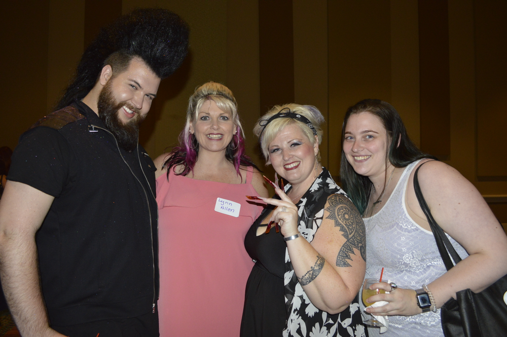 <p>Nellie Neal, Lynn Allen, PhoenixVan Dyke, and Heidi Meier</p>