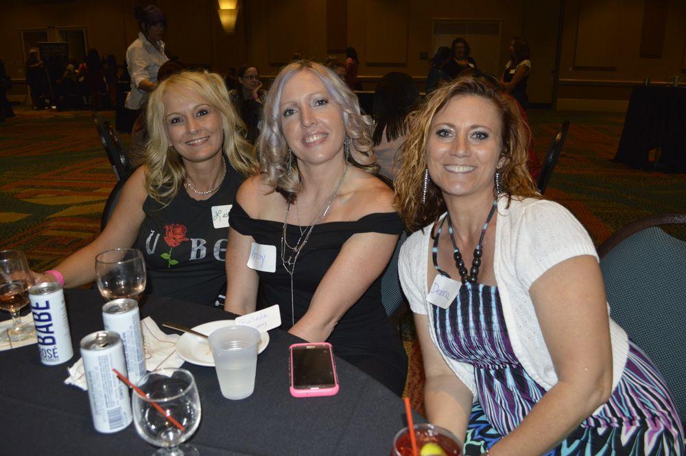 <p>Lisa Johnston, Kristy Marsh, and Deanna Doyle</p>