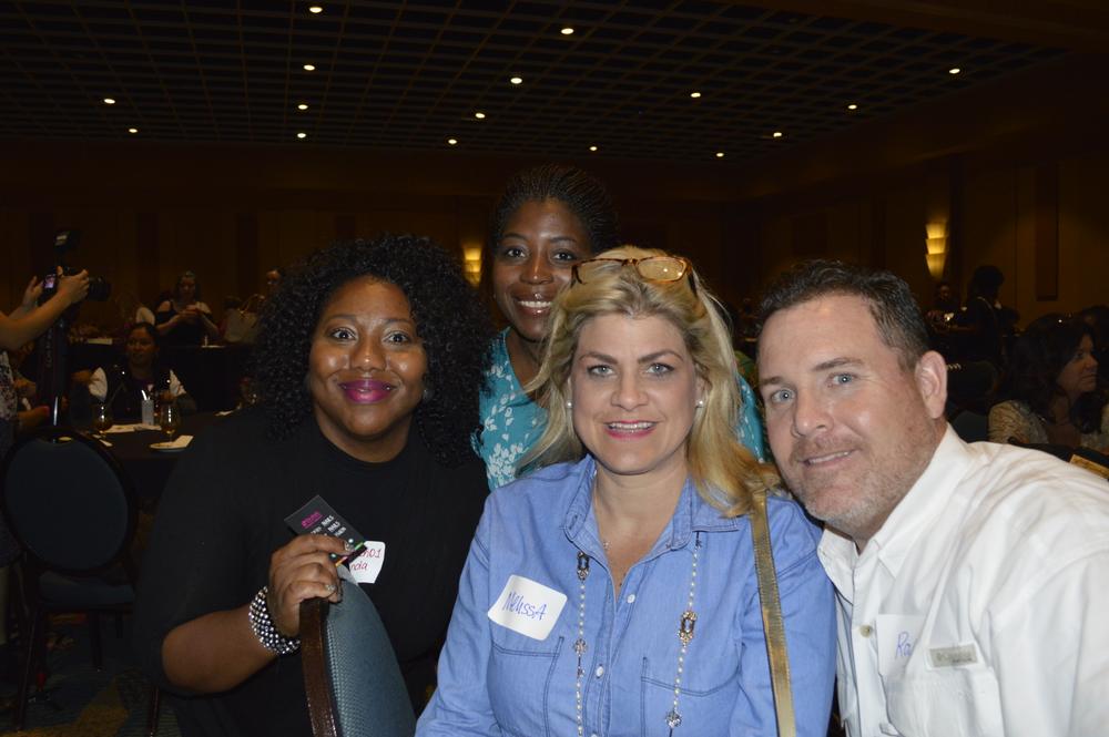 <p>Yolanda Washington, Tamika Gadsen, Melissa Goodson, and Roy Goodson</p>
