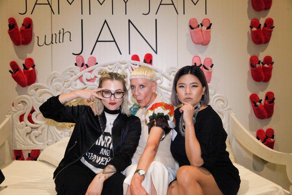 <p>Celina Ryden, Jan Arnold, and Winnie Huang</p>