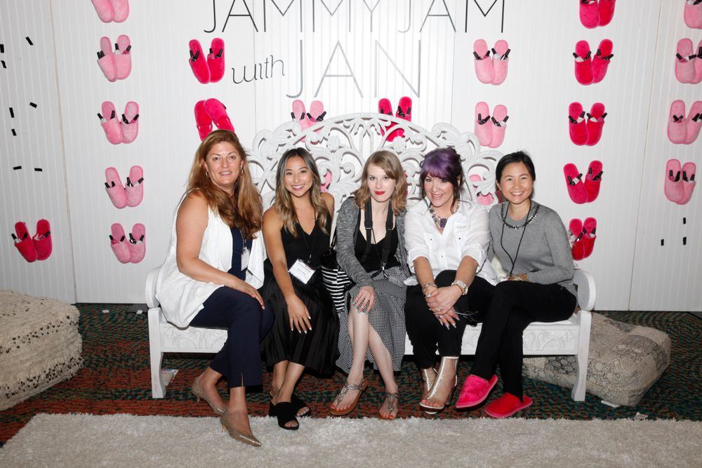 <p>Michelle Mullen, Becky May, Katherine Fleming, AthenA Elliott, and Anh Tran</p>