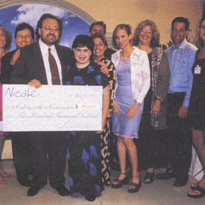 OPI president George Schaeffer made a hefty donation to four charities  at the launch party for...