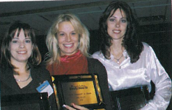 <p>Their faces may not be as familiar as their names, but now you can call these top competitors #8, #22, and #12&nbsp;&mdash; their favorite spots on the Top 25 Competitors Ranking for 1999. Oh, their real names are (left to right) Salina Rush, Bu' Domenech Calabrese, and Darlene Feric.</p>