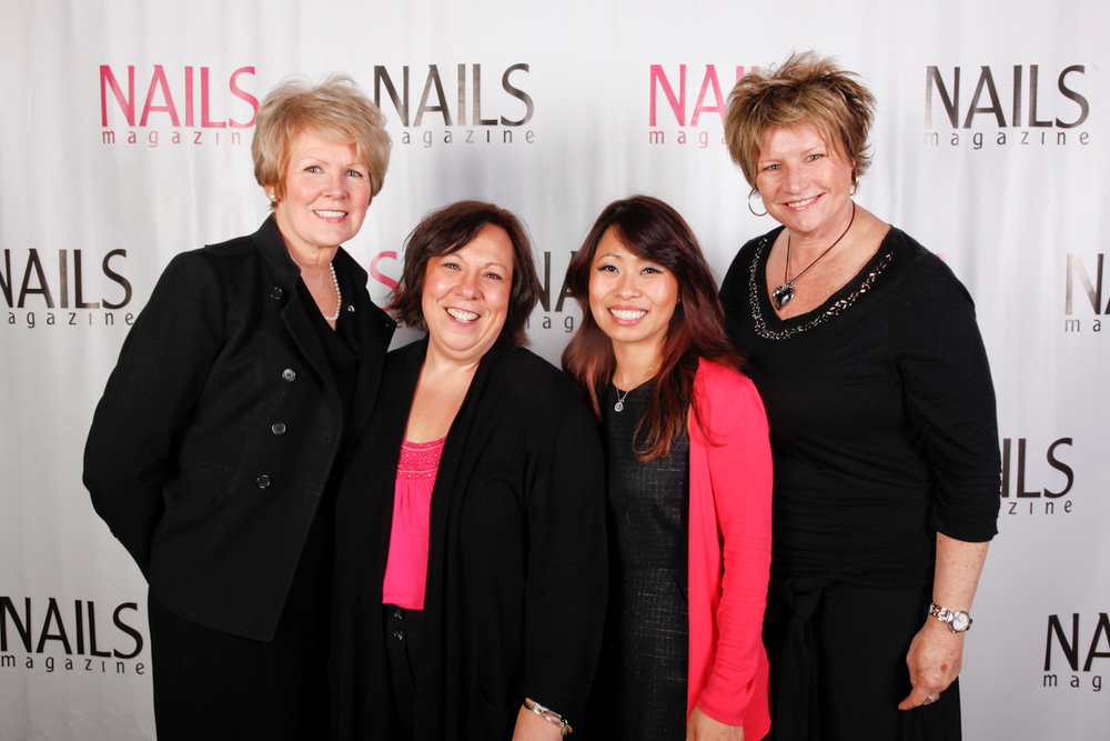 <p>The Dashing Diva team: Peggy Bellafiore, Mary Jo Zwirowski, So Yong Yu, and Cindy Atkins</p>
