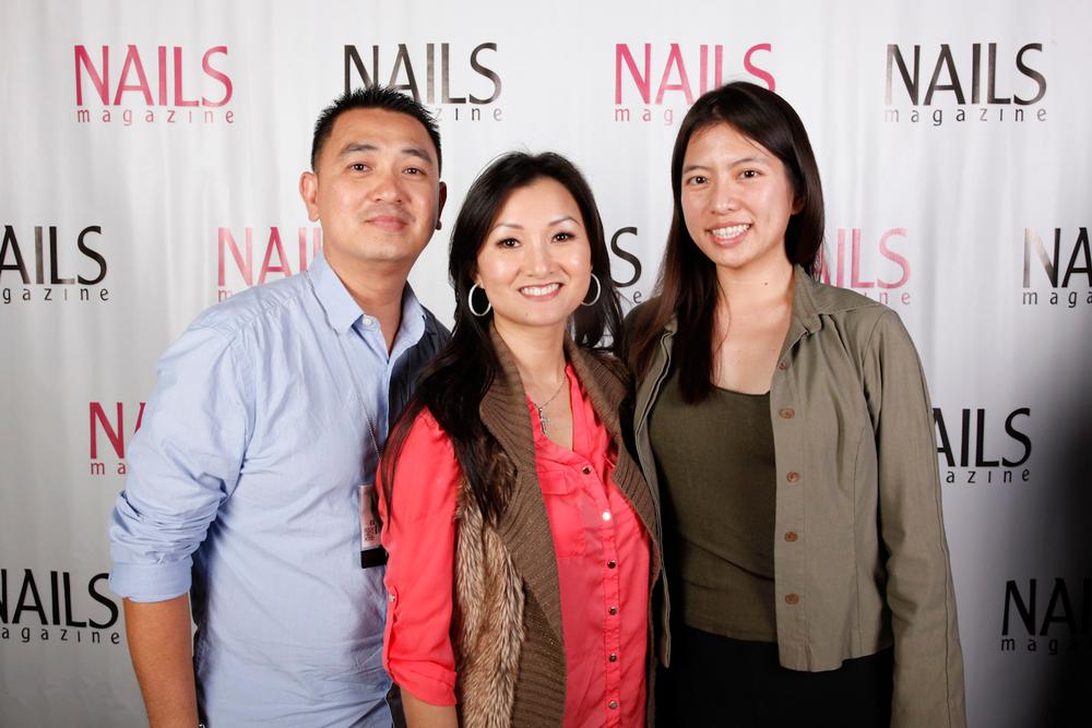 <p>Tom Ho, Ann Chang, and Kim Pham</p>