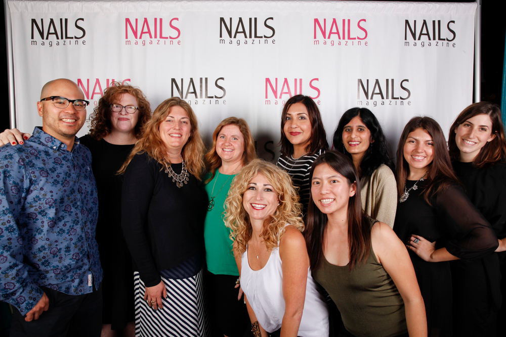 <p>The NAILS team: (back row, left to right) web producer Jonathan Chang, group publisher Cyndy Drummey, publisher Michelle Mullen, editor Hannah Lee, production manager Carla Benavidez, contributing writer Sree Roy, senior editor Beth Livesay, assistant editor Brittni Rubin, (front row, left to right) art director Danielle Parisi, and VietSalon editor and graphic designer Kim Pham</p>