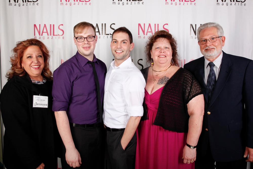 <p>Pam Rolland, Matt Wright, Buddy Sims, Terri Sims, and Tim Sims</p>